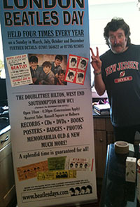 london beatles day banner