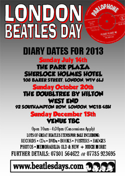 london beatles days march 2013